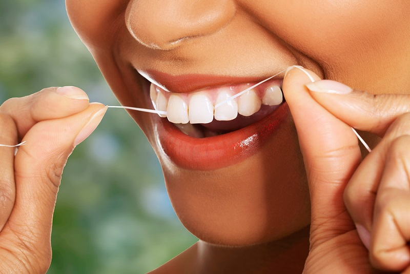 flossing will keep your teeth gums healthy