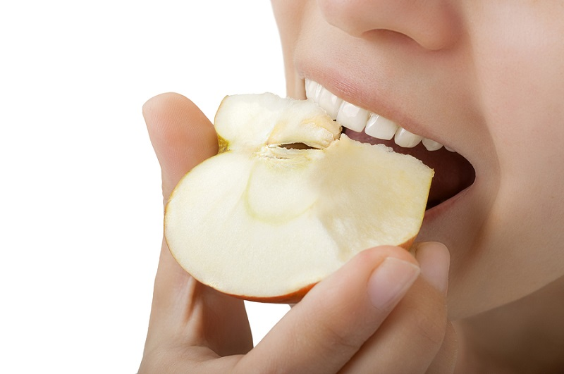 selective food can improve your teeth